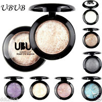 UBUB 12 Colors Eye Shadow Makeup Highlighter Powder Shimmer Eyeshadow Palette