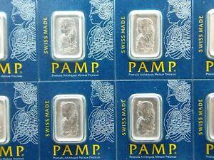 1 Gram Platinum SEALED Bar PAMP Suisse Fortuna Multigram .9995  ECC&C, Inc.