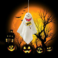 3 Scary Halloween Hanging Decoration Ghost Bags Balloon Twist Ties Party Ghost