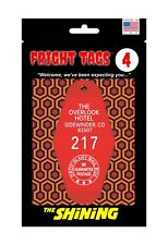 Fright Tags # 4 Key Tag - The Overlook Hotel #217 (Red) - The Shining