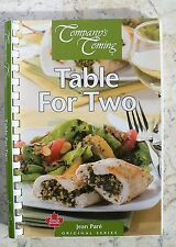 Company's Coming TABLE FOR TWO 2010 Jean Pare Cookbook Cook Book Coil Binding SC