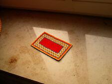 """miniatur Teppich gestickt """"murcia"""""""