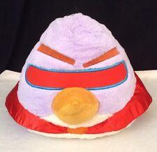 "Angry Birds Purple Space Bird ""LAZER BIRD"" Plush LG 10"" w/ Sound Stuffed Animal"