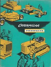 Equipment Brochure - Caterpillar - Product Line Overview - c1950's (E6168)