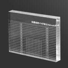 LP Record Player Measuring Phono Tonearm VTA/Cartridge Azimuth Alignment Ruler