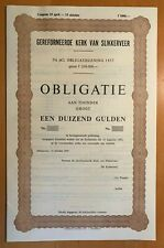 Gereformeerde kerk van Slikkerveer - obl 1000 gulden