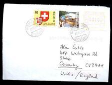 Switzerland 2003 Airmail Cover To UK #C2029