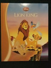 Disney The Lion King Hardcover - Illustrated- Simba, Mufasa, Rafiki, Scar