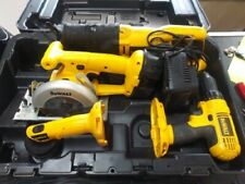 DEWALT COMBO CORDLESS 4 PC TOOL SET     MODEL:  DC4CPKA