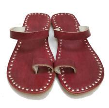 brown leather slippers ladies flats designer sandals womens slippers flip flops