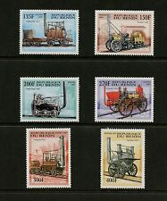 Benin 1997  #1022-7  trains locomotives    6v.  MNH  K525