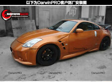 2003-2008 350Z Z33 JP Style Front Fenders W/ Vent Mesh Body Kit For Nissan