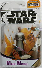 Star Wars Clone Wars Animated Mace Windu (Hasbro, 2003) New on Card