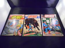 Superboy #184 #192 #195 Lot of 3 some wear.  NO STOCK PHOTOS!