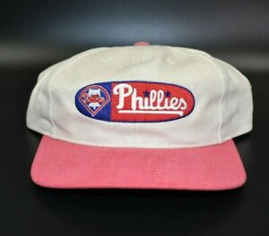 Philadelphia Phillies Twins Enterprise MLB Vintage 90s Strapback Cap Hat - NWT