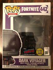 Funko Pop Fortnite 442 Dark Voyager Glow In The Dark NYCC 2019 Official Sticker