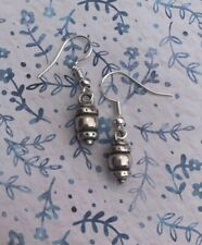 Brighton Signature Silver Beads Sparkle Custom Earrings