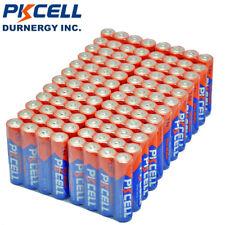 300pcs PKCELL AAA Alkaline Batteries 1.5V LR03 AM4 MP3 Player Toys Battery