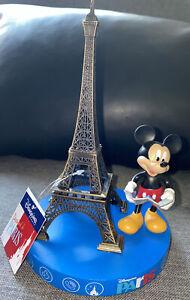 FIGURINE MICKEY TOUR EIFFEL PARIS Disneyland Paris Neuf Disney MK