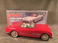 New Toy MF-317 China 1:18 Red 1953 CHEVROLET CORVETTE Convertible Tin Friction