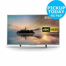 Sony KD43XE7073SU 43 Inch 4K Ultra HD HDR Freeview Smart WiFi LED TV - Silver