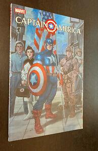 CAPTAIN AMERICA RED WHITE BLUE TPB -- Marvel -- OOP
