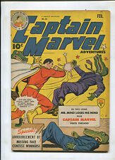 CAPTAIN MARVEL ADVENTURES #54 (4.5) MAROONED IN THE FUTURE