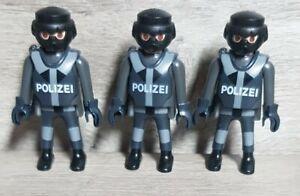 Playmobil 3 x Grund  Figuren / Polizei Citylife