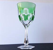 Glas Fuß- Becher Überfangglas um 1930   AL883