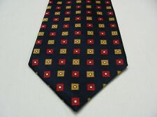 GAP PREMIUM - GEOMETRIC PATTERNED - VINTAGE - MADE IN USA - 100% SILK NECK TIE!