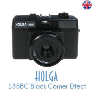 HOLGA 135BC Black Lomo 35mm Film Camera Black Corner Effect 135 BC Holga