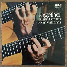 JULIAN BREAM - JOHN WILLIAMS - TOGETHER - LP