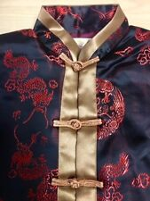 Boys Silk  Embroidered Tang Suit Kung Fu Outfit - Fine Quality