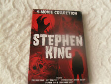 """STEPHEN KING COLLECTION (DVD, 2013, 3-Disc Set) MISSING """"PET SEMATARY""""  LIKE NEW"""