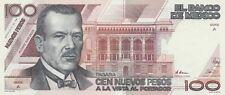 Mexico: $ 100 Nuevos Pesos Plutarco Elias Calles Jul 31, 1992 UNC.