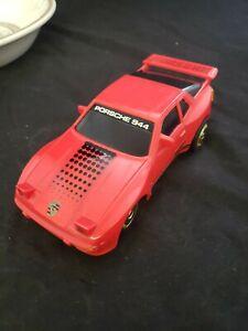Vtg 1985 Jimson Porsche 944 Rare RC Remote Control Car or slot Race track (h5)