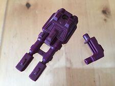 Transformers G1 Parts 1985 DRAGSTRIP cannon gun weapon menasor