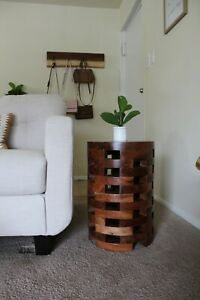 Solid Acacia wood End Side Accent Coffee Table Bedroom Living Room NEW