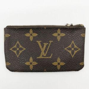 Louis Vuitton Pochette Cles  Coin Case Monogram Brown M62650  used