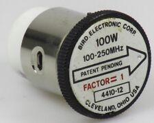 Bird thruline vatímetros elemento 4410-12 100mw-100w 100-250 MHz, 4410a