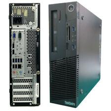 Windows 10 Lenovo M93P SFF PC - Quad Core i5-4570 - 8GB DDR3 - 1TB HDD - DVDRW