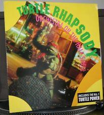 vinyle Tortues Ninja 2 / Teenage Mutant / Orchestra on the Half Shell / MAX 45T