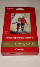 Canon PP-301 Photo Paper Plus Glossy II in 4 x 6 - 100 Sheets