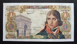 """100 Nouveaux Francs  """"Bonaparte"""" - 4 mai 1961"""