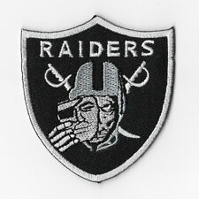 Oakland Raiders Iron on Patches Embroidered Badge Applique Emblem Skull Mask