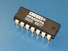 2x Burr Brown OPA4227PA OPA4227 Quad Op-Amp - High Precision - Low-noise - PDIP