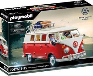 Laden HB) PLAYMOBIL ® (70176) VW Bus T1 Campingbus