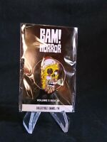 """BAM! Horror  Box Exclusive  Simpsons  Pin   """"Homer's Melting Face""""  by Tom Ryan"""