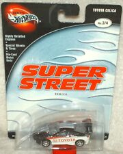 Hot Wheels 2003 Preferred Super Street Series Toyota Celica black/white  ex.card