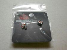Paparazzi Kids Earrings (new) UMBRELLAS - RED & WHITE